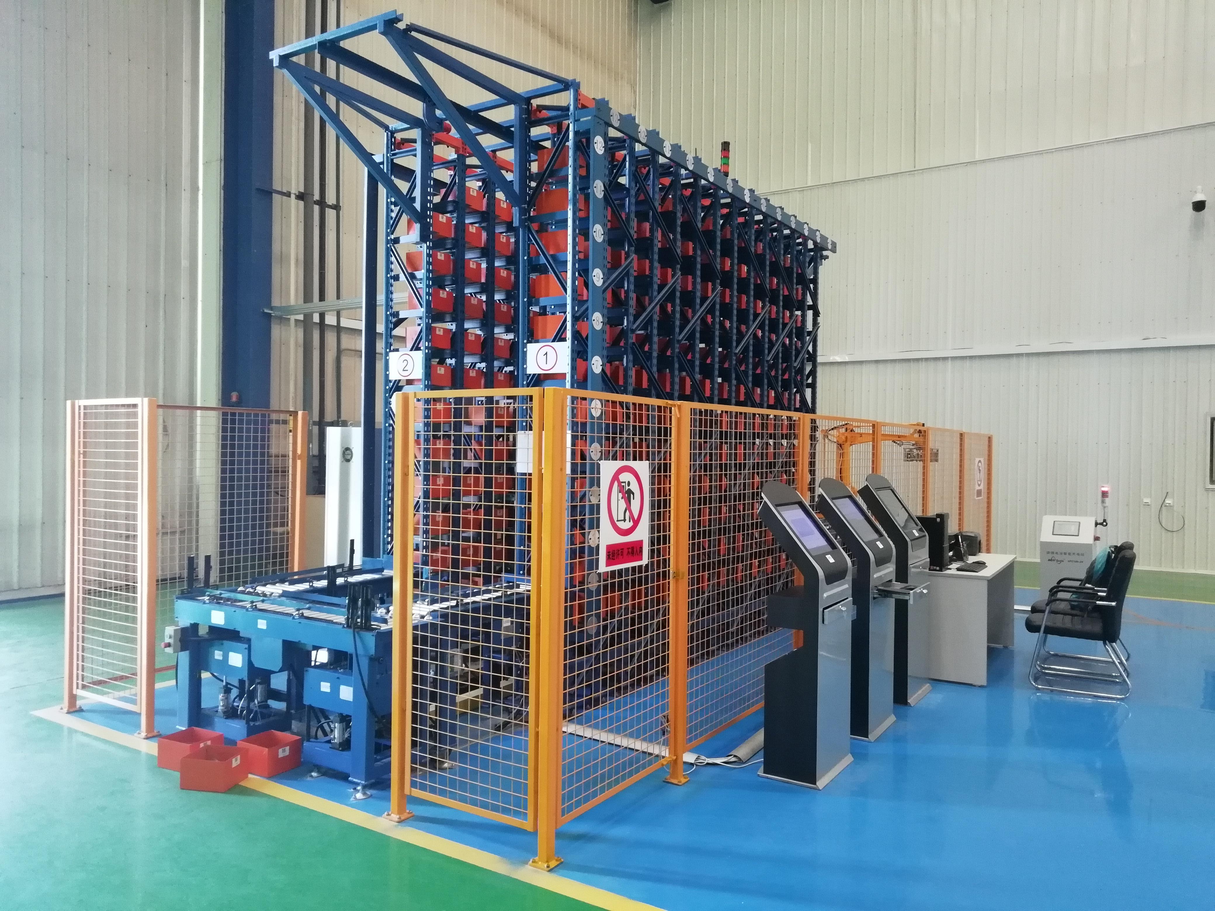軍工配件立體倉庫